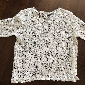 Ragdoll Lace Crochet Top